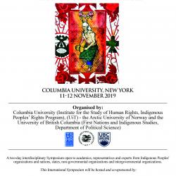 International Symposium on Indigenous Peoples and Borders: decolonization, contestation, trans-border practices