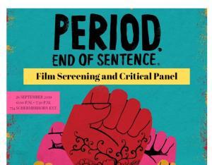 Period. End of Sentence. Screening